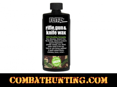 Flitz Gun Stock Rifle, Gun & Knife Wax