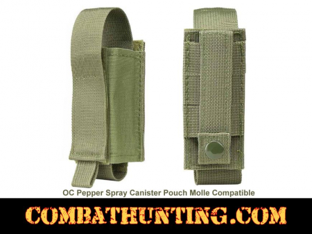 OC Pepper Spray Canister Pouch Molle Green
