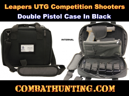 Leapers UTG Competition Shooters Double Pistol Case