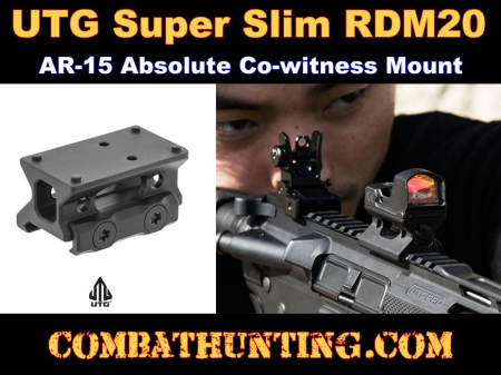 UTG Super Slim RDM20 Absolute Co-witness Mount
