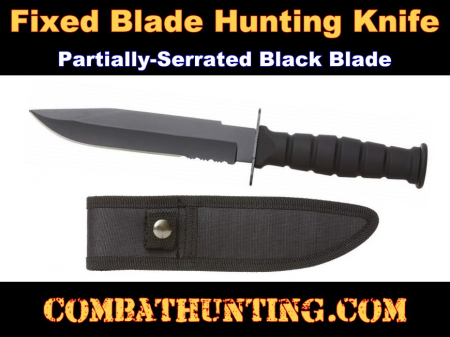 Fixed Blade Hunting Knife With Sheath