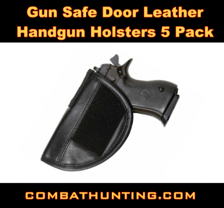 Gun Safe Door Handgun Holsters 5 Pack
