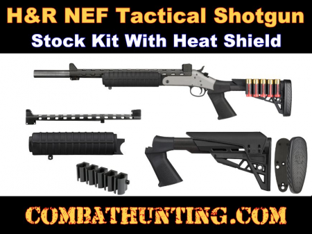H&R NEF Shotgun Tactical Stock Kit With Forend