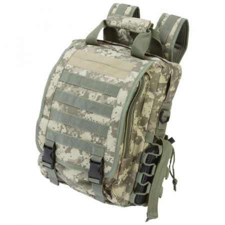 Tactical Backpack Digital Camo Water-Resistant