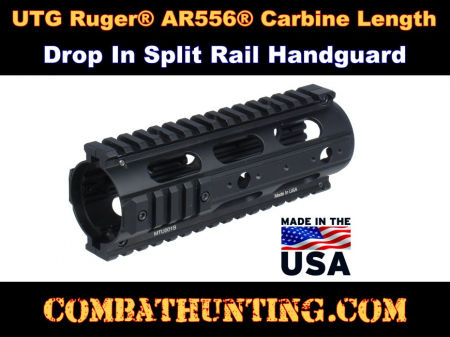 Ruger AR-556 Handguard Upgrade With Rails